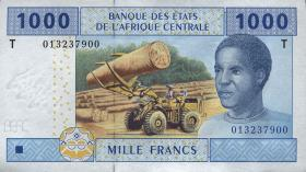 Kongo / Congo P.107T 1000 Francs 2002 (1)