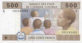 Tschad / Chad P.606C 500 Francs 2002