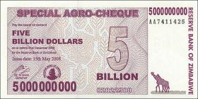 Zimbabwe P.61 5 Billion Dollars 2008 (1)