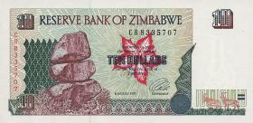 Zimbabwe P.06 10 Dollars 1997 (1)