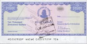 Zimbabwe P.17 10000 Dollars 2003 (1)