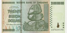 Zimbabwe P.86 20 Billion Dollars 2008 (1)