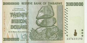 Zimbabwe P.81 200.000.000 Dollars 2008 (1)