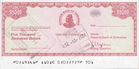 Zimbabwe P.16 5000 Dollars 2003 (1)
