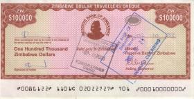 Zimbabwe P.20 100.000 Dollars 2003 (1)