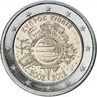 Zypern 2 Euro 2012 Euro-Bargeld