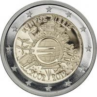 Zypern 2 Euro 2012 Euro-Bargeld PP