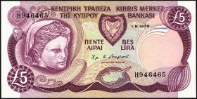 Zypern / Cyprus P.47 5 Pounds 1979 (1)