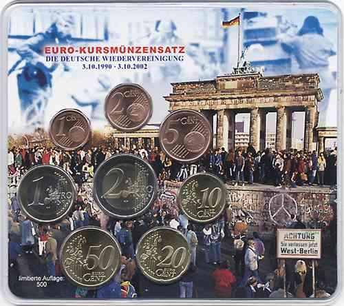 A-017 Euro-KMS 2002 A Wiedervereinigung