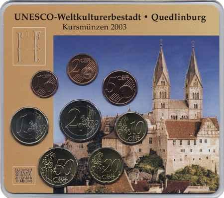 A-039 Euro-KMS 2003 A UNESCO: Quedlinburg