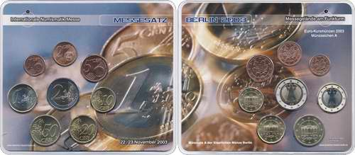 A-037 Euro-KMS 2003 A Numismata I/ Münzen