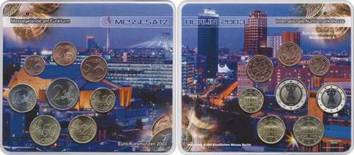 A-038 Euro-KMS 2003 A Numismata II/ Stadt