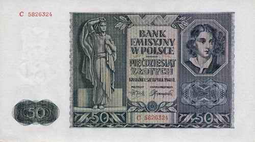 R.582: 50 Zlotych 1941 (2)