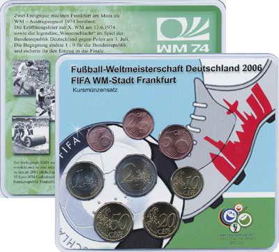 A-121 Euro-KMS 2004 A FIFA WM-Stadt Frankfurt