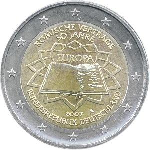 Deutschland 2 Euro 2007 Römische Verträge