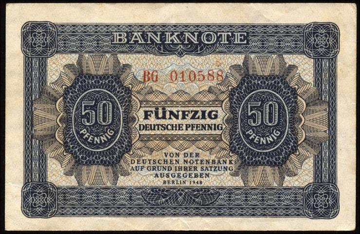 R.339b: 50 Pfennig 1948  Serie BG (2)