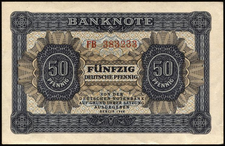 R.339b: 50 Pfennig 1948  Serie FB (2)