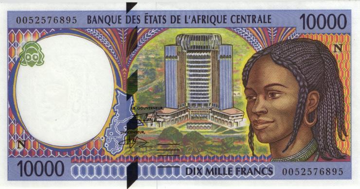 Äquatorial Guinea / Equatorial G. P.505Nf 10000 Francs 2000 (1)