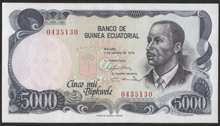Äquatorial-Guinea P.17 5000 Bipkwele 1979 (1)