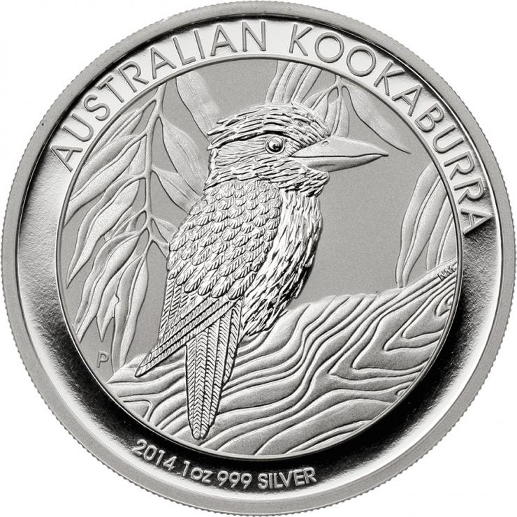 Australien Silber-Unze 2014 Kookaburra