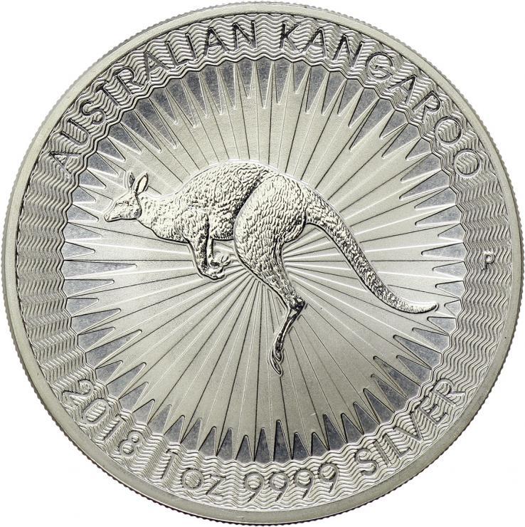Australien Silber-Unze 2018 Känguruh