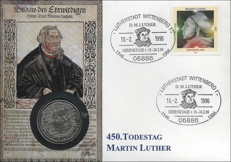 B-0906 • Luther, 450. Todestag