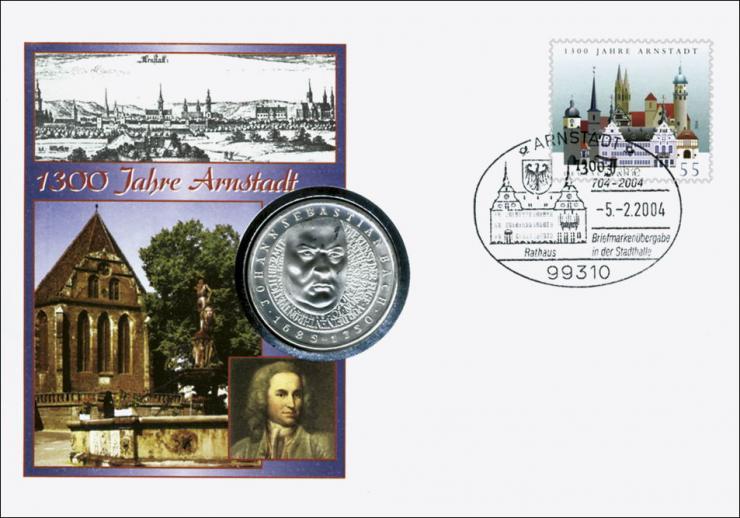 B-1542 • 1300 Jahre Arnstadt