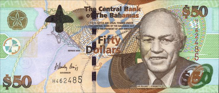 Bahamas P.75 50 Dollars 2006 (1)