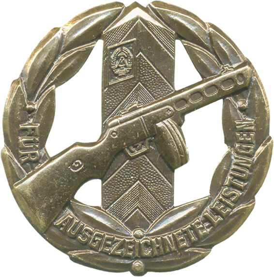 B.0133d Leistungsabzeichen Grenzpolizei - Bronze