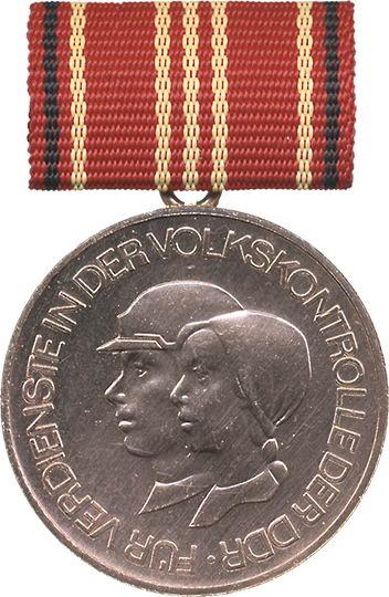 B.0249d Für Verdienste in der Volkskontrolle Stufe III