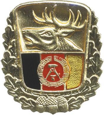 B.0604 Große Ehrennadel im Jagdwesen der DDR