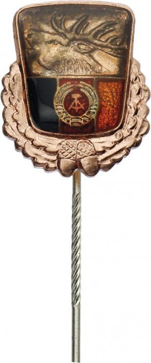 B.0607d Ehrennadel im Jagdwesen der DDR Bronze
