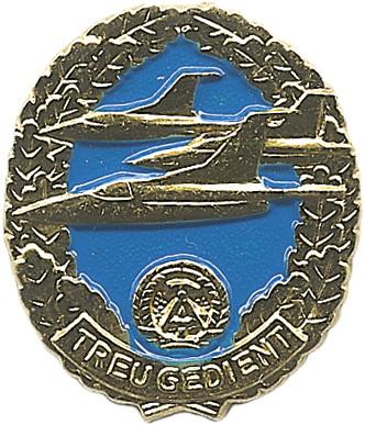 B.0841 NVA Reservistenabzeichen Luftstreitkräfte