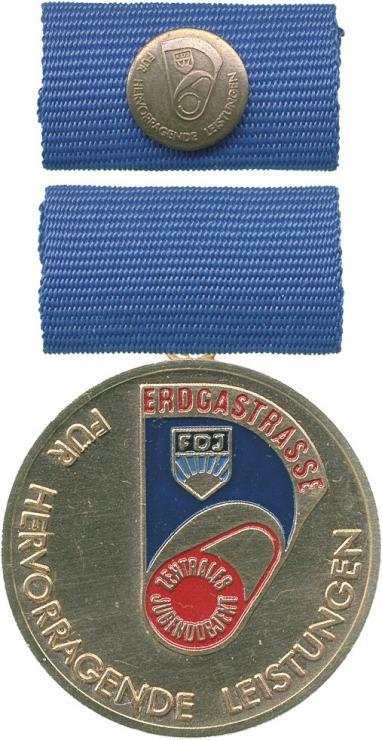 B.2674c Leistungsmedaille Erdgastrasse Bronze