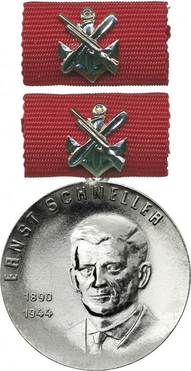 B.3004g Ernst-Schneller-Medaille Silber