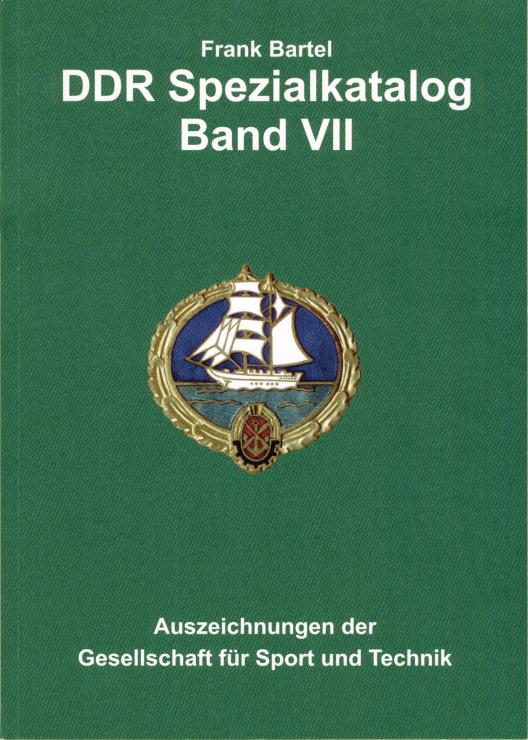 Bartel: DDR Spezialkatalog Band  7