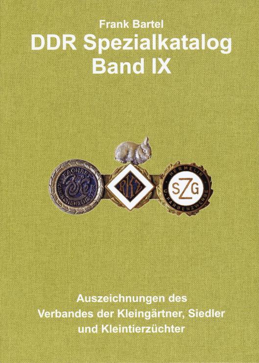 Bartel: DDR Spezialkatalog Band  9
