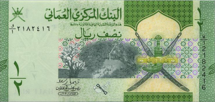 Oman P.Neu 1/2 Rial 2020 (1)