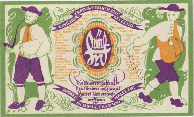 Bielefeld 5 Mark 1920 (1)