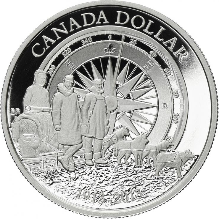 Canada 1 Dollar 2013 Arctic Expedition BU