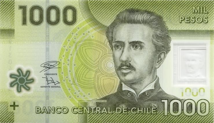 Chile 1.000 Pesos 2019 (1)