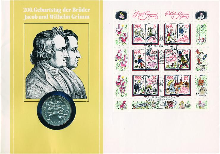 D-035b • 200. Geburtstag der Brüder Grimm