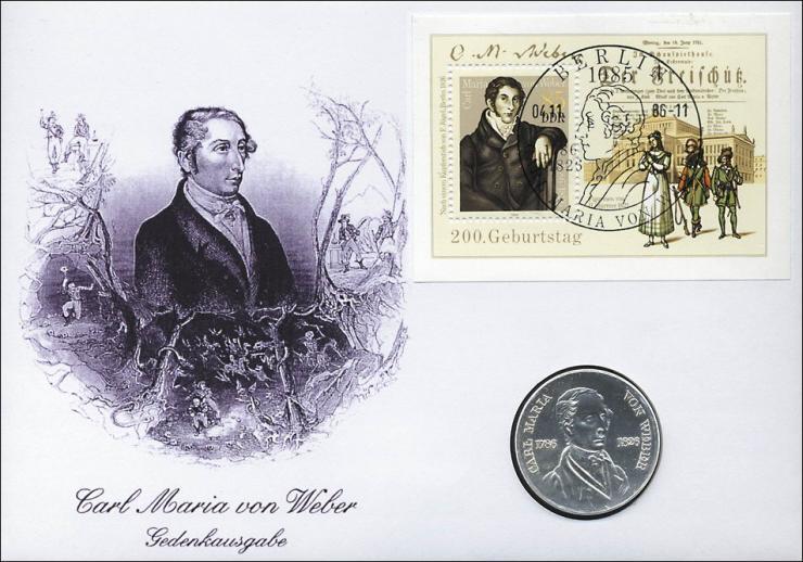 D-038 • Carl Maria von Weber
