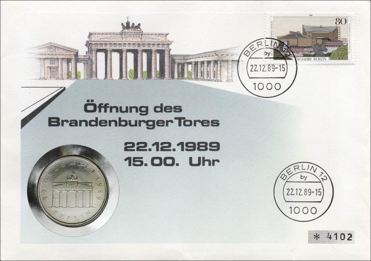 D-074.d • Öffnung Brandenburger Tor