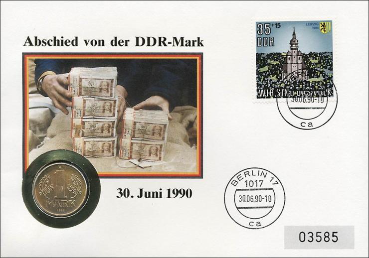 D-113 • Abschied von der DDR-Mark