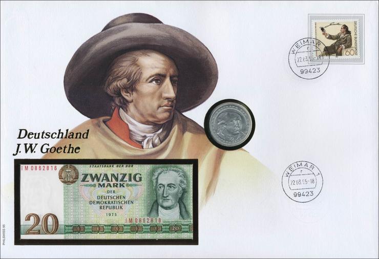 D-119.b • Deutschland J. W. Goethe