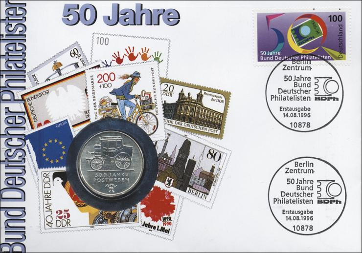 D-257 • 50 Jahre Bund Deutscher Philatelisten