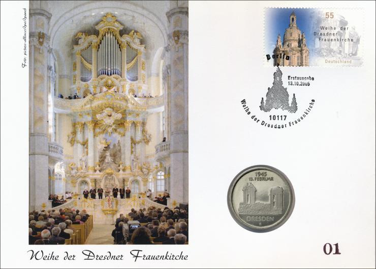 D-295PP01 • Weihe der Dresdner Frauenkirche