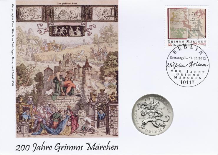 D-322 • 200 Jahre Grimms Märchen