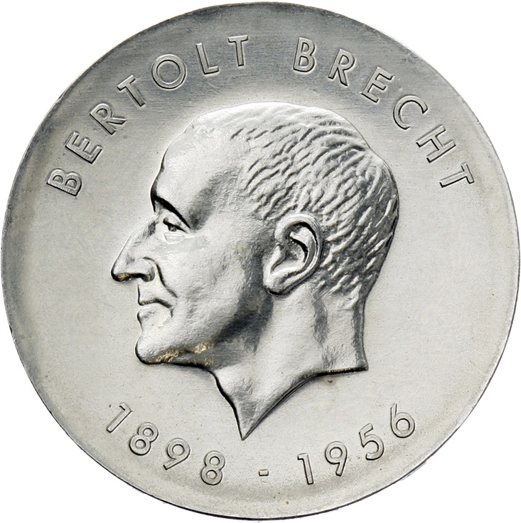 DDR 10 Mark 1973 Brecht